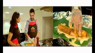 Mrs Balbir Cooks Fish Baked In Banana Leaves With Patak's