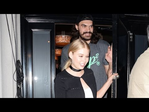 NBA Star Steven Adams Of The OKC Thunder Leaves Craig's With A Hot Blonde
