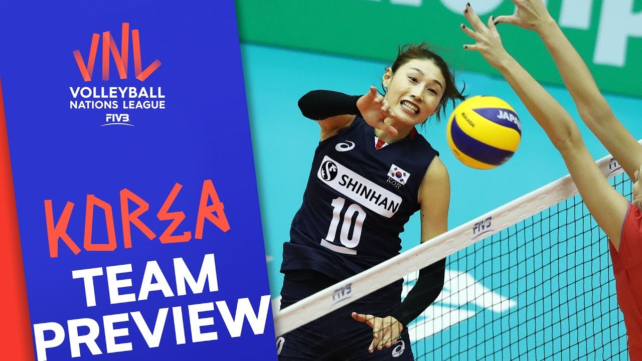 Korea Women Team Preview Volleyball Nations League 2019 Youtube