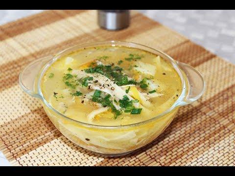куриный суп с вермишелью с пошаговым фото