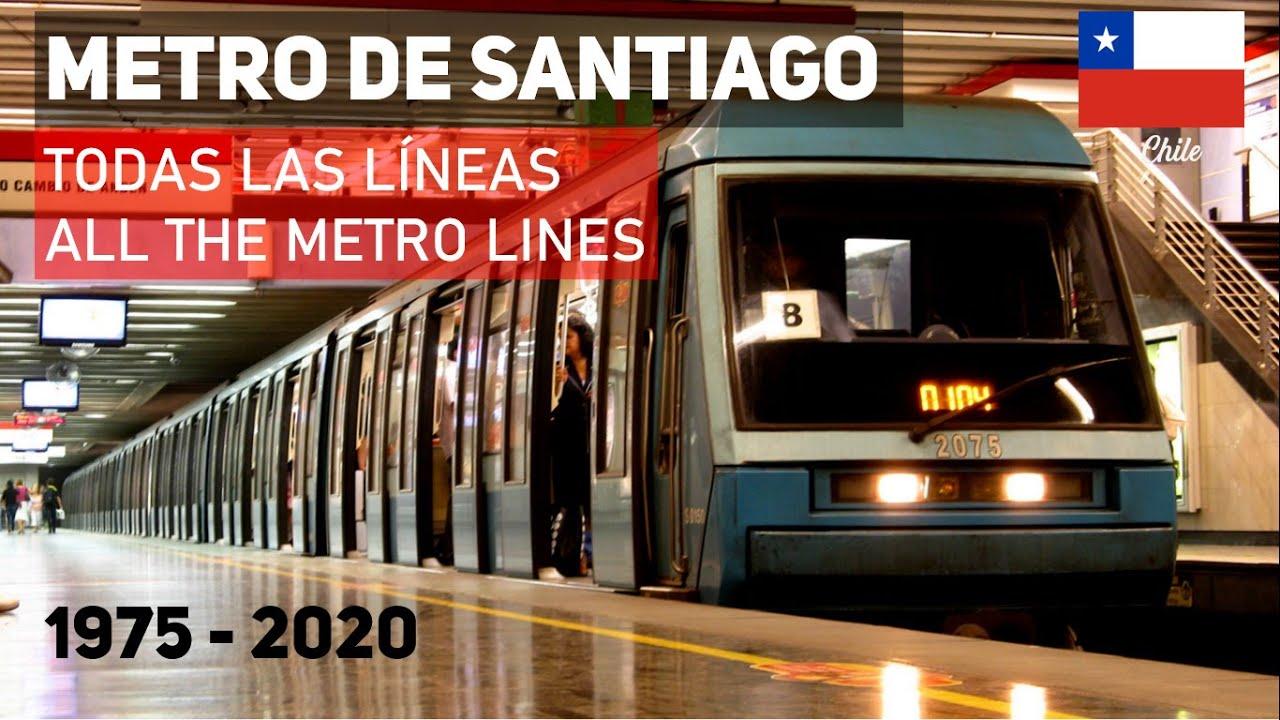 Download Historia de todas las LÍNEAS de METRO DE SANTIAGO (y cómo entenderlas): 1975 - 2020