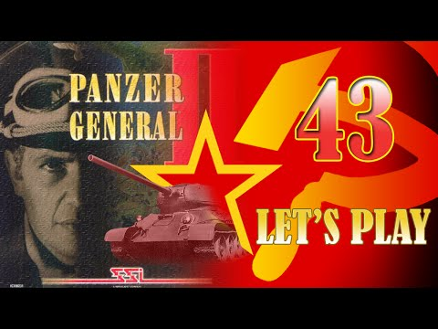 Let's Play Panzer General II - Episode 43 - Roll Red Tide (Seelow Heights)