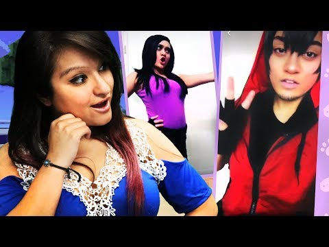 THE BEST CHARACTER COSTUMES | REACTING TO APHMAU COSPLAY MUSICAL.LYS
