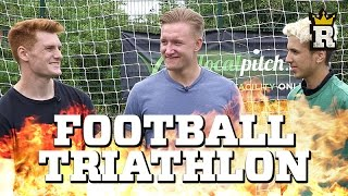 FOOTBALL TRIATHLON CHALLENGE - The Ultimate Time Trial | Rule'm Sports