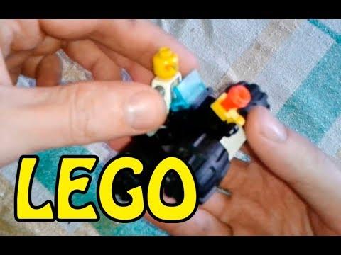 Как сделать из лего квадроцикл видео