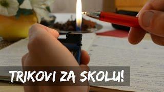 10 Trikova Za Skolu [LIFE HACKS]