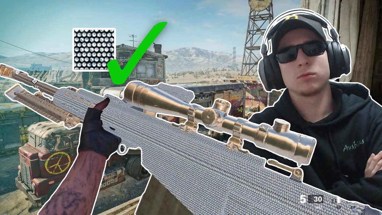 I unlocked DIAMOND SNIPERS it's BEAUTIFUL.. (Black Ops Cold War)