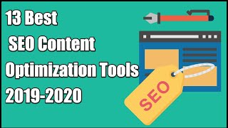 13 Best SEO Content Optimization Tools - Comparison & Review