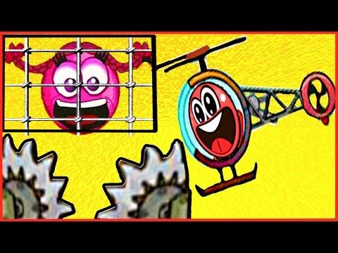 Игра - Красный шарик 2. Играть в красный шарик 2 онлайн