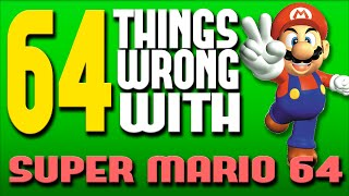 One of Really Freakin' Clever's most viewed videos: 64 Things WRONG With Super Mario 64