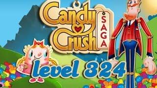 Candy Crush Saga Level 324 - ★★★ - 137,700