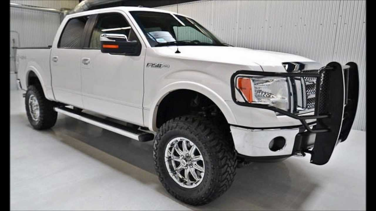 2010 ford f150 supercrew lariat lifted truck for sale. Black Bedroom Furniture Sets. Home Design Ideas