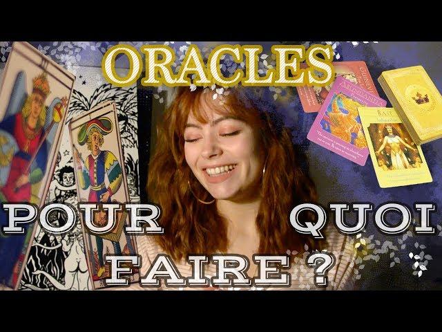 💐🤷♀️LES ORACLES 🌞 (+Astrologie)✨🃏 : Pourquoi il faut s'en servir dans la vie de tous les jours.  ✨✨