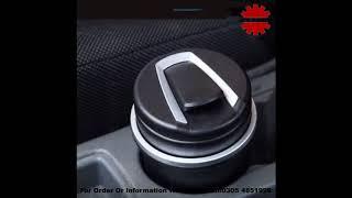 Universal LED Ashtray For All Cars - Black