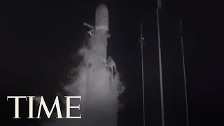 SpaceX Launched A Massive Rocket With 24 Satellites On Board | TIME