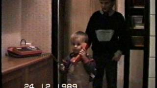 Vánoce 1989, Cheb, Československo