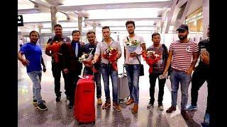 नेपाल आइडल टोलि पुग्यो दोहा Nepal Idol team in Doha Qatar