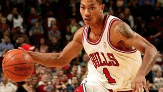 Derrick Rose's First NBA Game! AMAZING!