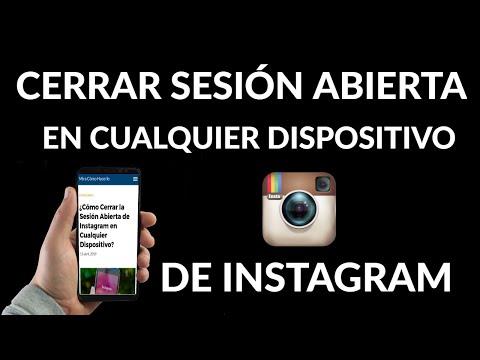 Cómo Cerrar la Sesión Abierta de Instagram en Cualquier Dispositivo