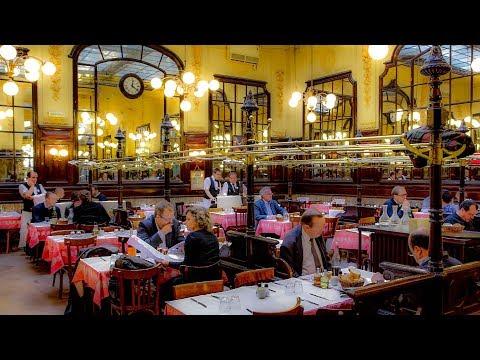 Lunch At Bouillon Chartier, Paris