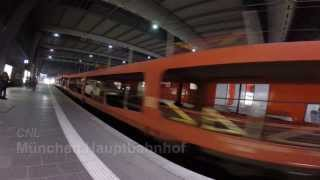 CNL night train Munich - Berlin (CityNightLine Capella)