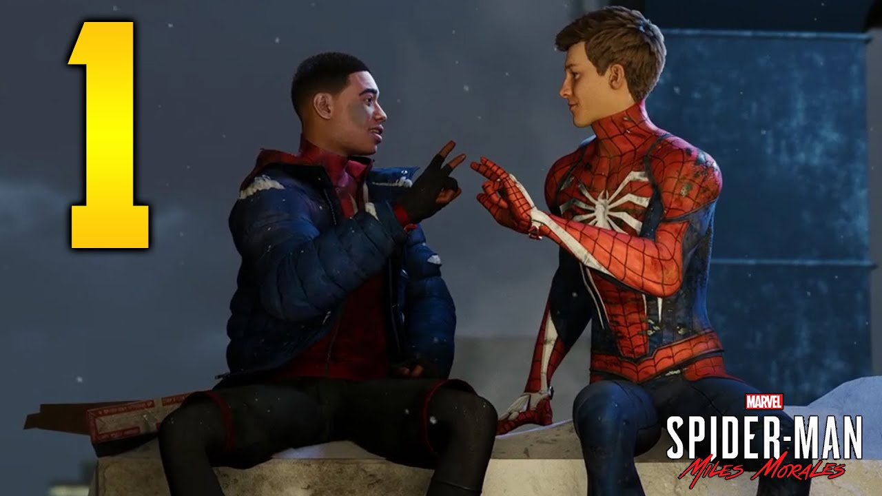 "Marvel's Spider-Man: Miles Morales - Part 1 ""SPIDER BROS!"" (Let's Play)"