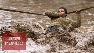 Dramáticas imágenes de las inundaciones de Chile y Perú - BBC Mundo