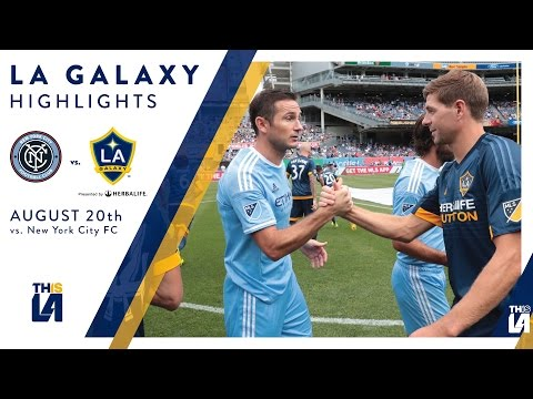 HIGHLIGHTS: LA Galaxy at New York City FC | August 20, 2016