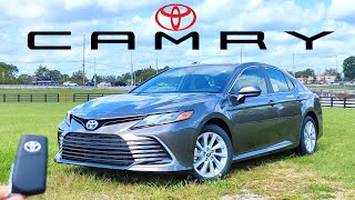 2022 Toyota Camry // What's NEW For The #1 Selling Mid-Size Sedan??