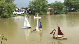 Cuckoo Fair 2016 Lewes Laughton - RC yachts and swans