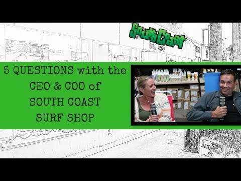 5 Questions with South Coast Surf Shops - How to start a retail store?