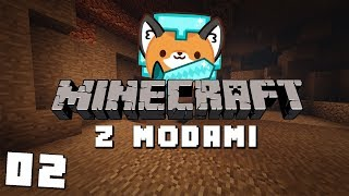LECIMY DO KOPALNI! || Minecraft z Modami  LIVE