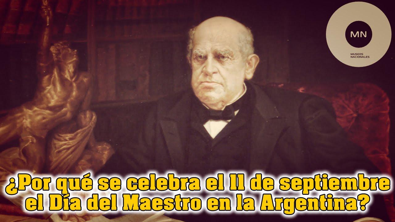 Por qu se celebra el 11 de septiembre el d a del maestro Noticias del dia de hoy en argentina espectaculos