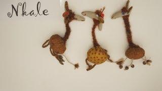 Сувенир своими руками: Видеоурок текстильная Жирафка от Nkale