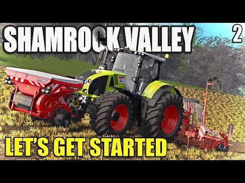 WORKING THE COLD SOIL | Shamrock Valley | Farming Simulator 17 - #2