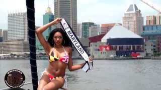 Ciera Nicole Miss Maryland United States 2013 x Route One Apparel