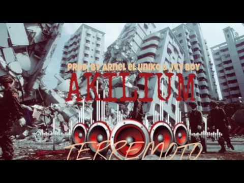 """Akilium """"la Receta """" - TERREMOTO prod by arnel el uniko y Jvy boy"""