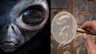 গুহার দেওয়ালে এ রকম ছবি মানুষ কেন এঁকেছিল? Unexplained Cave painting, Alien or Story?