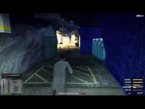 GTA 5 ONLINE bunker-Trading places