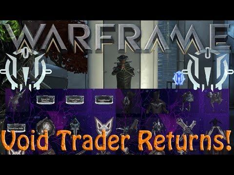 Warframe - Void Traders Returned! 106th Rotation thumbnail