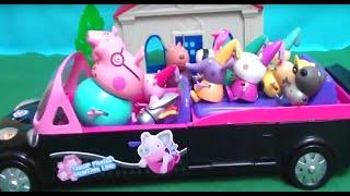 Мультфильм игрушками Свинка Пиги Pig Школьный карнавал (Бал Маскарад)