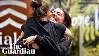 Happy reunions: Joy as Trans-Tasman bubble begins
