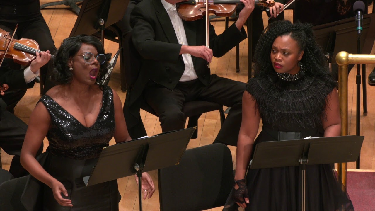 "Artwork representing Nkeiru Okoye ""Black Bottom"" – Thomas Wilkins, conductor"
