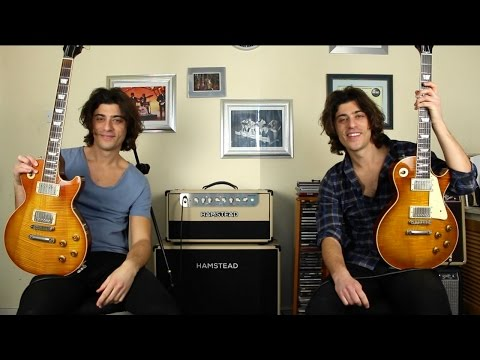 1959 Les Paul vs Gibson Les Paul Standard