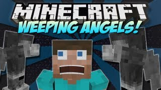 Minecraft | WEEPING ANGELS! | Mod Showcase [1.4.7]