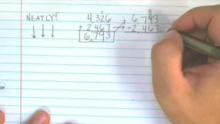 Adding 4-Digit Numbers