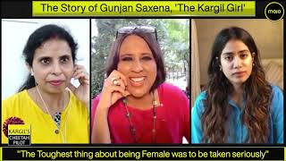 Gunjan Saxena |The Kargil Girl| Jahnvi Kapoor & Gunjan Saxena speak to Barkha Dutt