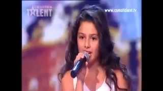 просто шок! у девочки с Армении самый сильный голос в мире!
