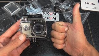 Самая популярная,бюджетная,экшен камера.SJcam SJ4000+ Wifi