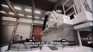 High Speed CNC Machining Center for Aviation customer